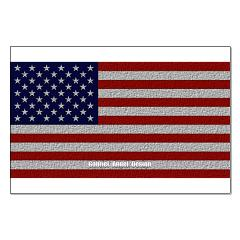 American Cloth Flag Posters