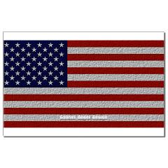 American Cloth Flag Small Posters