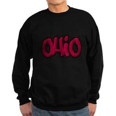 Ohio Graffiti Dark Sweatshirt