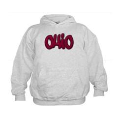 Ohio Graffiti Kids Sweatshirt by Hanes