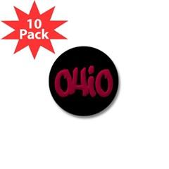 Ohio Graffiti Mini Button (10 pack)