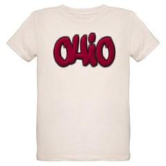 Ohio Graffiti Organic Kids T-Shirt