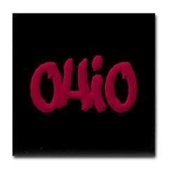 Ohio Graffiti Tile Coaster