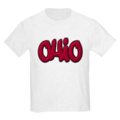Ohio Graffiti Youth T-Shirt by Hanes