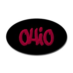 Ohio State Graffiti Style Lettering Decal