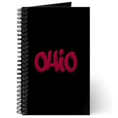 Ohio State Graffiti Style Lettering Journal