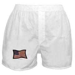 USA Flag Graffiti Men's Boxer Shorts