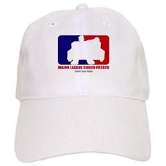 Major League Couch Potato Baseball Cap