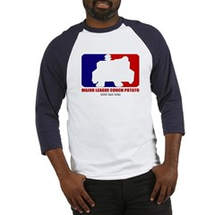 Major League Couch Potato Baseball Jersey T-Shirt