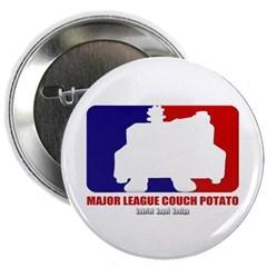 Major League Couch Potato Button