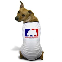 Major League Couch Potato Dog T-Shirt