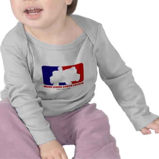 Major League Couch Potato Infant Bella Long Sleeve T-Shirt