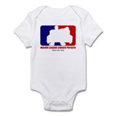 Major League Couch Potato Infant Bodysuit