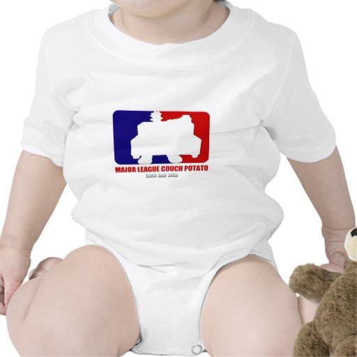 Major League Couch Potato Infant Creeper