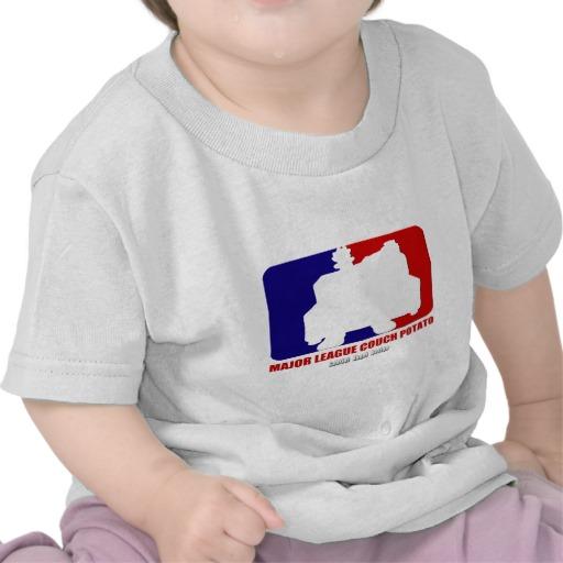 Major League Couch Potato Infant T-Shirt