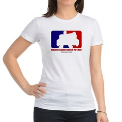 Major League Couch Potato Junior Jersey T-Shirt