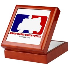 Major League Couch Potato Keepsake Box
