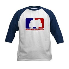 Major League Couch Potato Kids Baseball Jersey T-Shirt