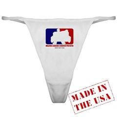 Major League Couch Potato Ladies Thong Underwear