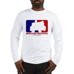 Major League Couch Potato Long Sleeve T-Shirt