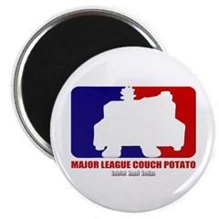 Major League Couch Potato Magnet