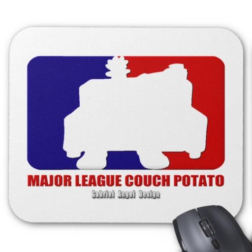 Major League Couch Potato Mousepad