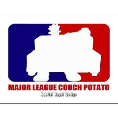 Major League Couch Potato Posters
