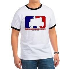 Major League Couch Potato Ringer T-Shirt