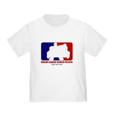 Major League Couch Potato Toddler T-Shirt