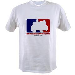 Major League Couch Potato Value T-shirt
