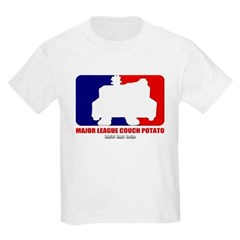 Major League Couch Potato Youth T-Shirt by Hanes