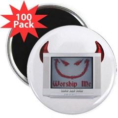"""Devil TV 2.25"""" Magnet (100 pack)"""