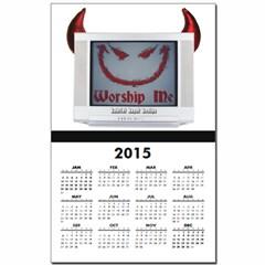 Devil TV Calendar Print