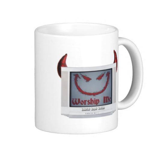 Devil TV Classic White Mug