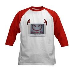 Devil TV Kids Baseball Jersey T-Shirt