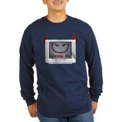 Devil TV Long Sleeve Dark T-Shirt