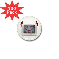 Devil TV Mini Button (100 pack)