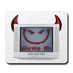 Devil TV Mousepad