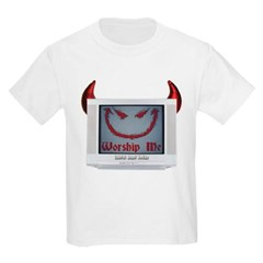 Devil TV Youth T-Shirt by Hanes