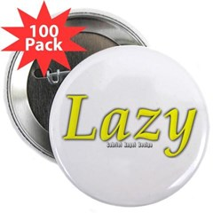 "Lazy Logo 2.25"" Button (100 pack)"