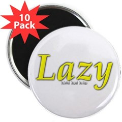 "Lazy Logo 2.25"" Magnet (10 pack)"