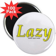 "Lazy Logo 2.25"" Magnet (100 pack)"