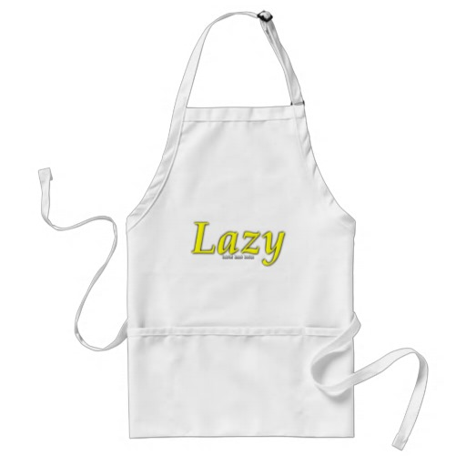 Lazy Logo Adult Apron