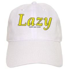 Lazy Logo Baseball Cap