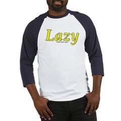 Lazy Logo Baseball Jersey T-Shirt