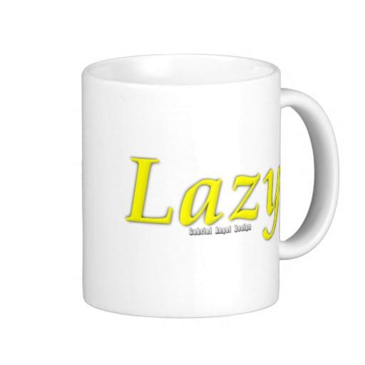 Lazy Logo Classic White Mug