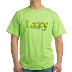 Lazy Logo Green T-Shirt