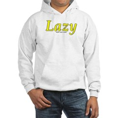 Lazy Logo Hooded Sweatshirt