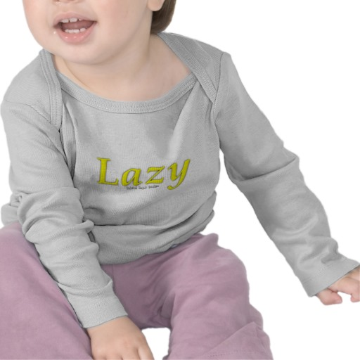 Lazy Logo Infant Bella Long Sleeve T-Shirt