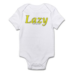 Lazy Logo Infant Bodysuit
